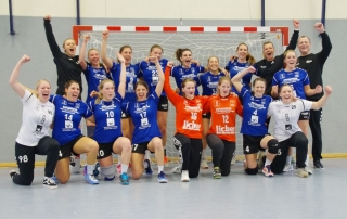 Frauenhandball-Derby in der Oberliga Hessen