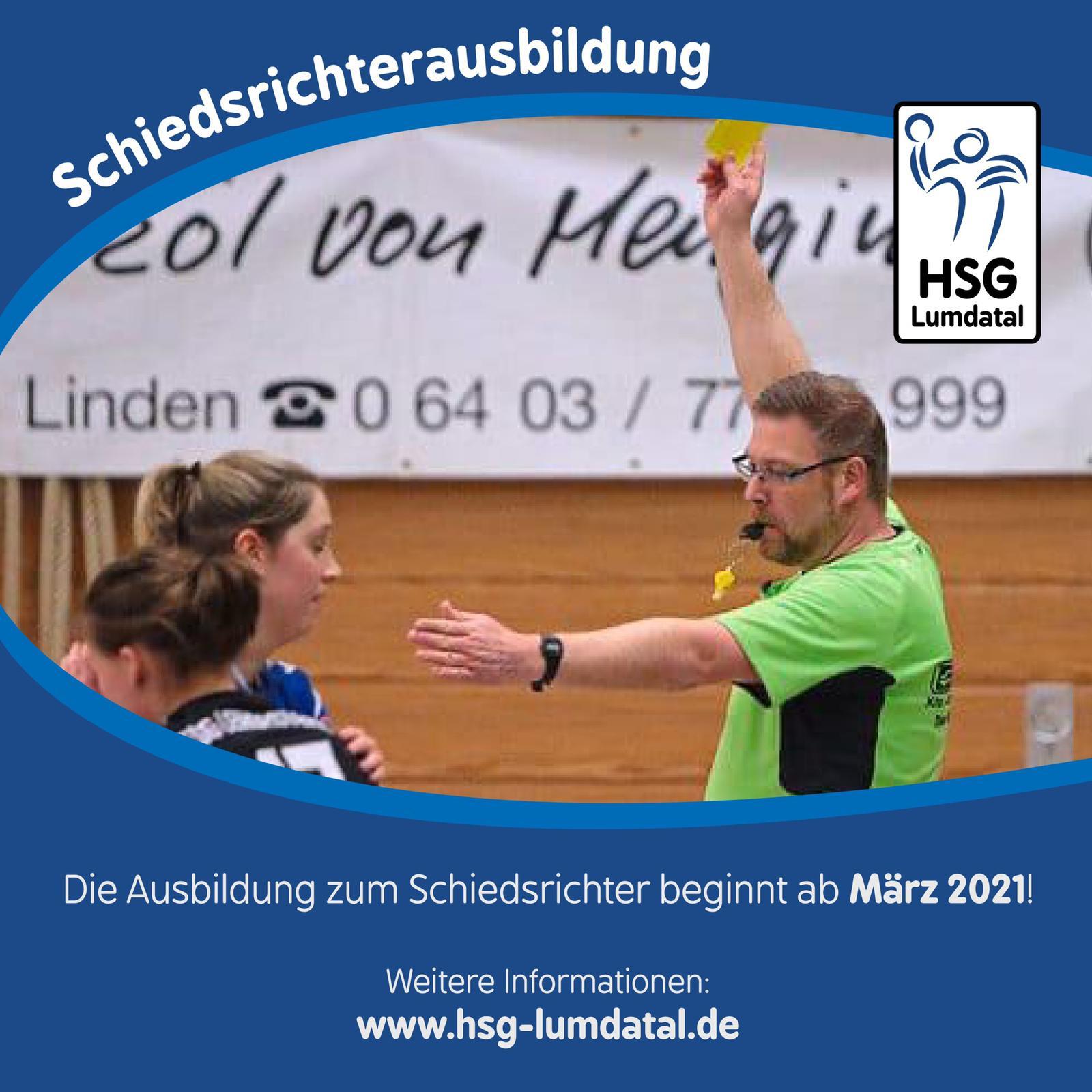 Schiedsrichterausbildung 2021